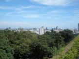 青葉城址から市街を望む