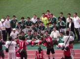 記念撮影するメキシコ代表