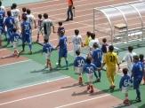 選手入場11番が泉澤