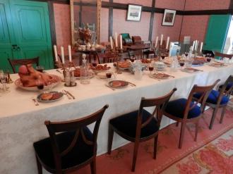 当時のクリスマスディナー