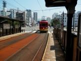 駅前まで電車で