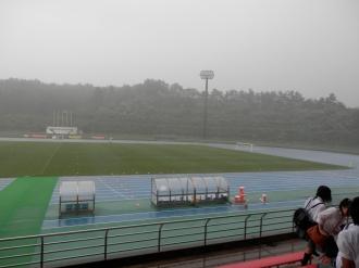 ゲリラ豪雨発生