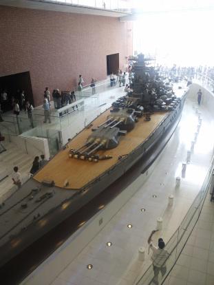 戦艦大和10分の1モデル
