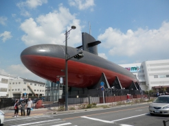展示用潜水艦あきしお