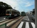旧型と新型電車